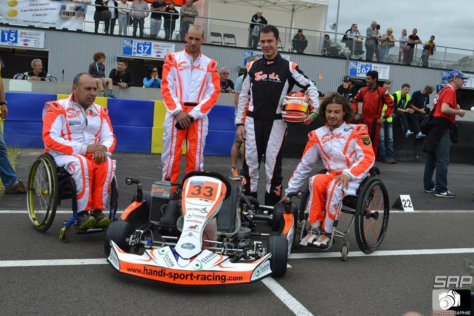 24h du Mans, l'équipe Handi-Sport Racing
