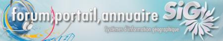Portail du SIG : Retrouver l'actualité de la géomatique, des dossiers, foire au question sur les Systèmes d'information géographiques