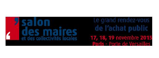 Salon des maires 2015 Logo